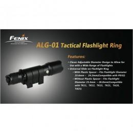 Fixation pour lampe Fenix ALG01
