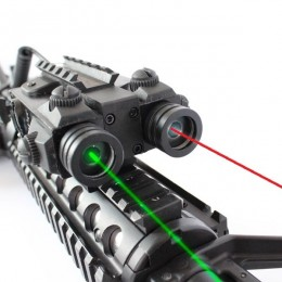 Viseur tactique laser vert + rouge